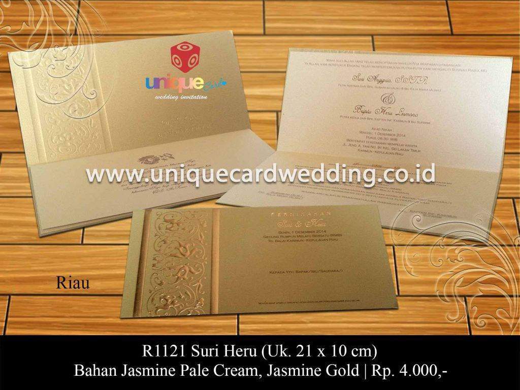 undangan pernikahan-Suri Heru