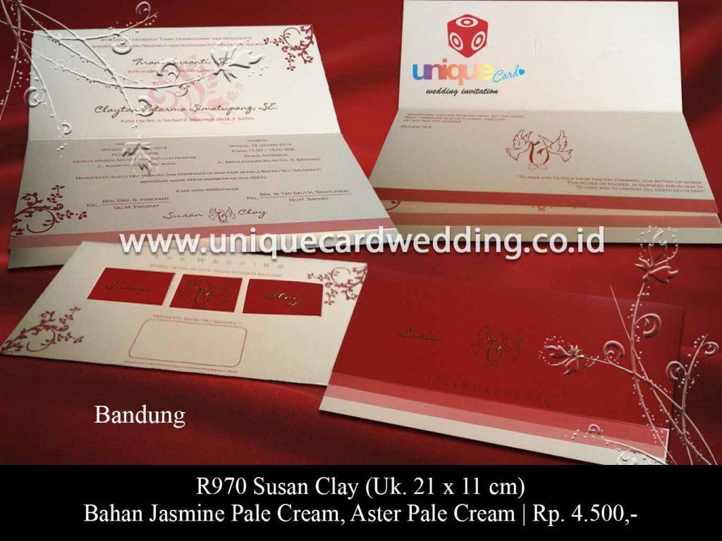 undangan pernikahan-Susan Clay
