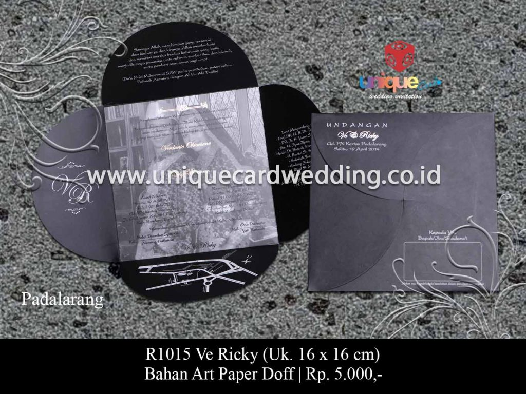 undangan pernikahan-Ve Ricky