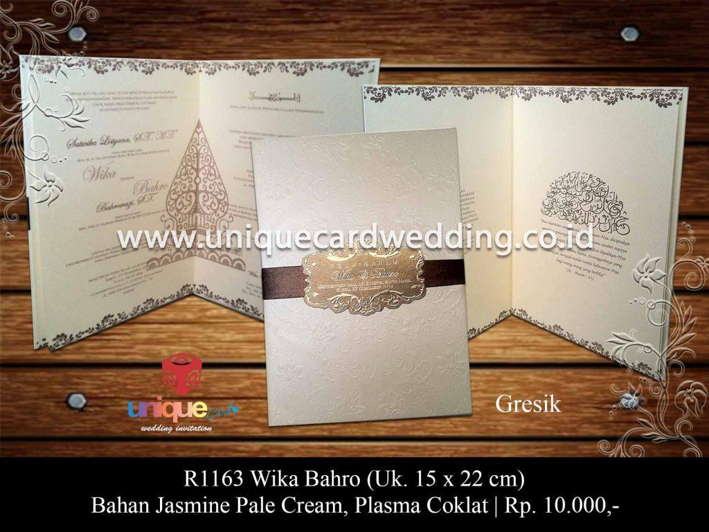 undangan pernikahan-Wika Bahro