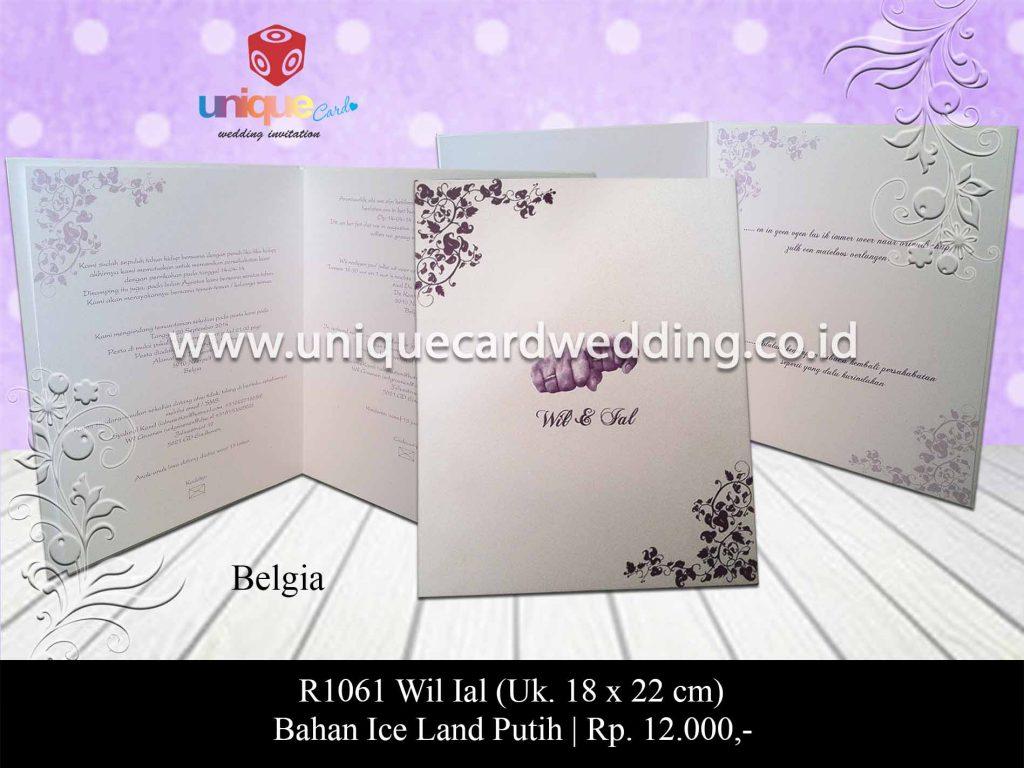 undangan pernikahan-Wil Ial