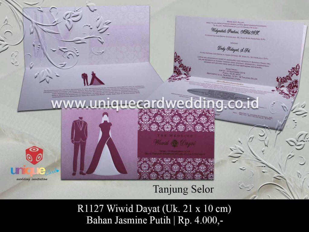 undangan pernikahan-Wiwid Dayat