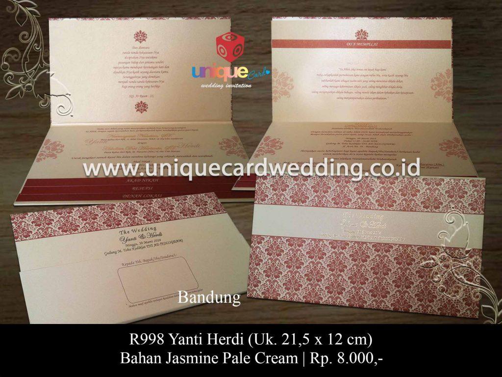 undangan pernikahan-Yanti Herdi