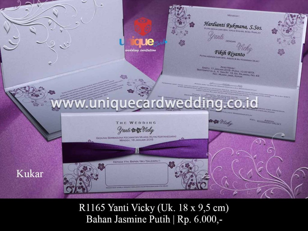 undangan pernikahan-Yanti Vicky