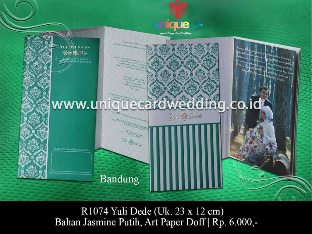 undangan pernikahan Yuli Dede