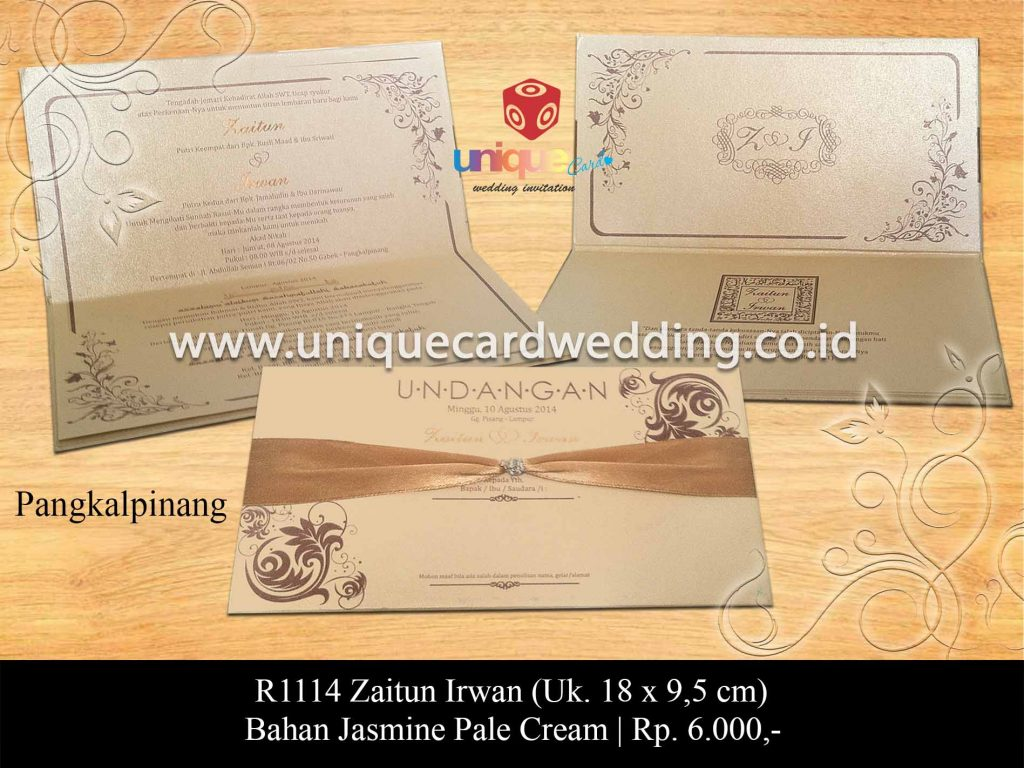 undangan pernikahan-Zaitun Irwan