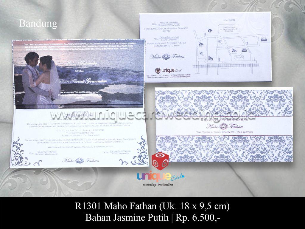 Undangan Pernikahan Maho – fathan