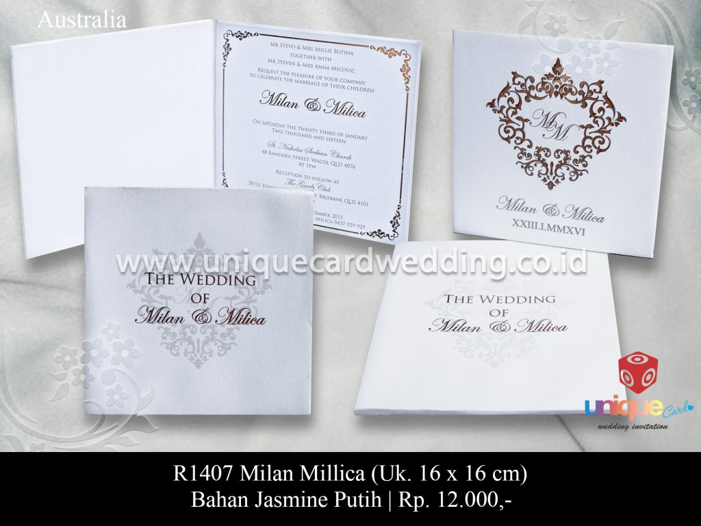 Undangan Pernikahan Milan – Millica