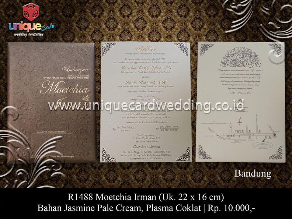 undangan pernikahan moetchia – irman