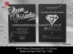 undangan pernikahan steeve - chrisantia