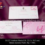 undangan pernikahan andreas-maria