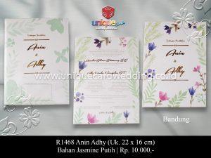 undangan pernikahan anin-adhy