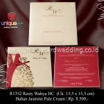 undangan pernikahan resty-wahyu