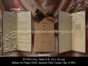 undangan pernikahan uwie-mail