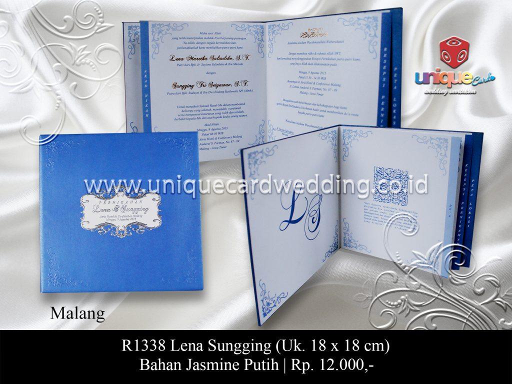 undangan pernikahan Lena Sungging