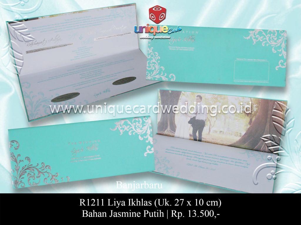 undangan pernikahan Liya Ikhlas