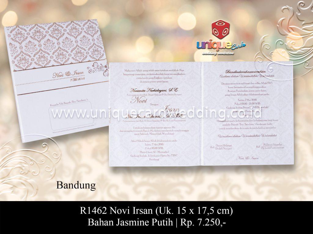 Undangan Pernikahan Novi Irsan