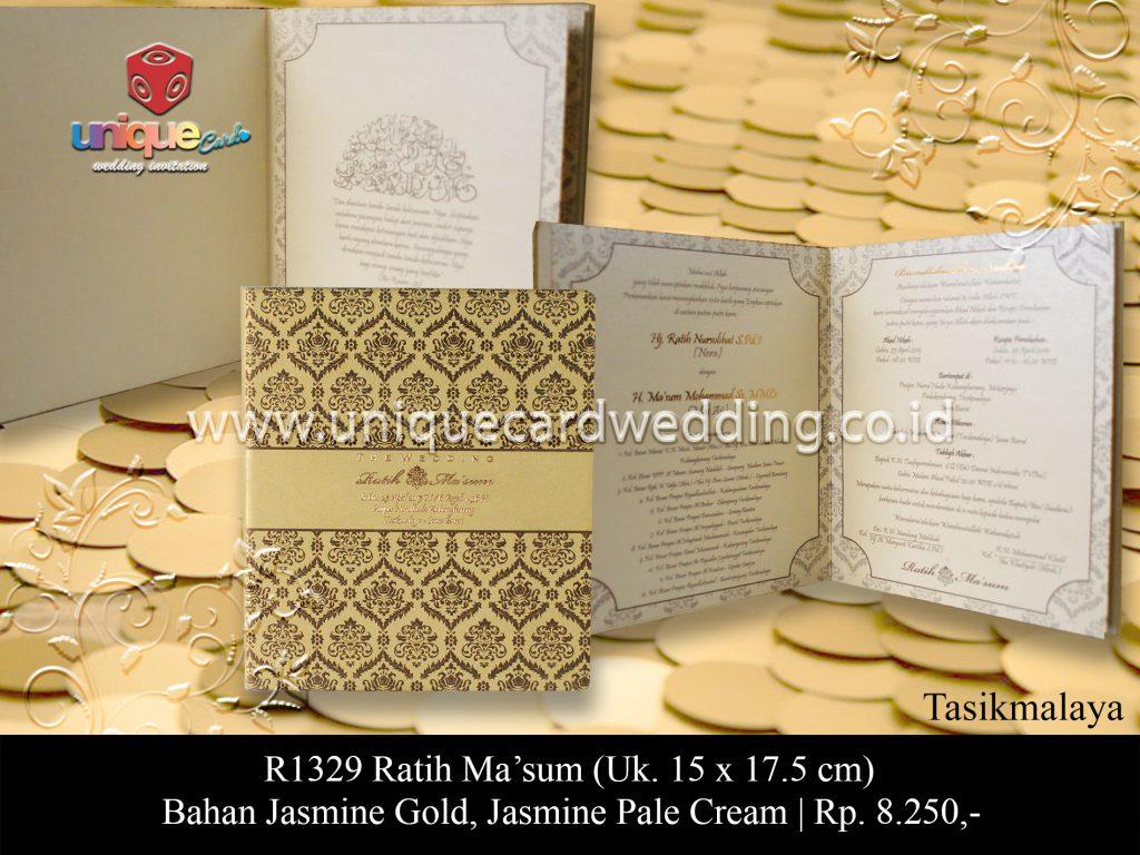 Undangan Pernikahan Ratih Ma'sum