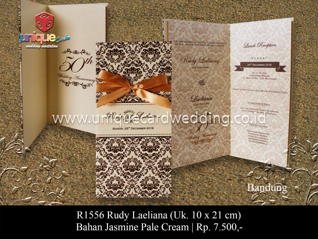 Undangan Pernikahan Rudy Laeliana