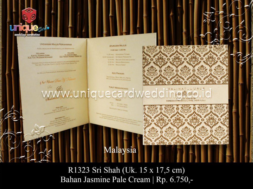 Undangan Pernikahan Sri Shah