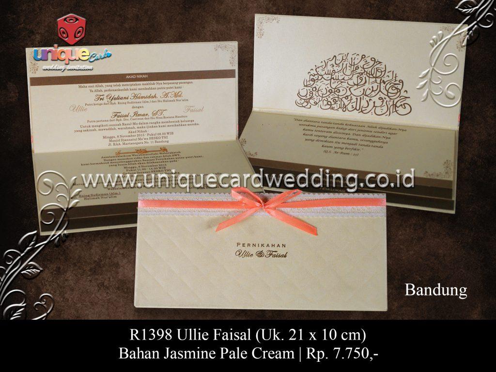 Undangan Pernikahan Ullie Faisal