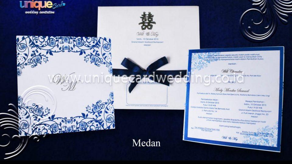 Undangan Pernikahan Will Mey
